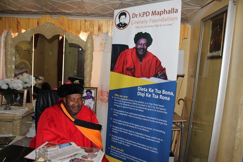 Remembering the late Sesotho novelist Dr KPD Maphalla