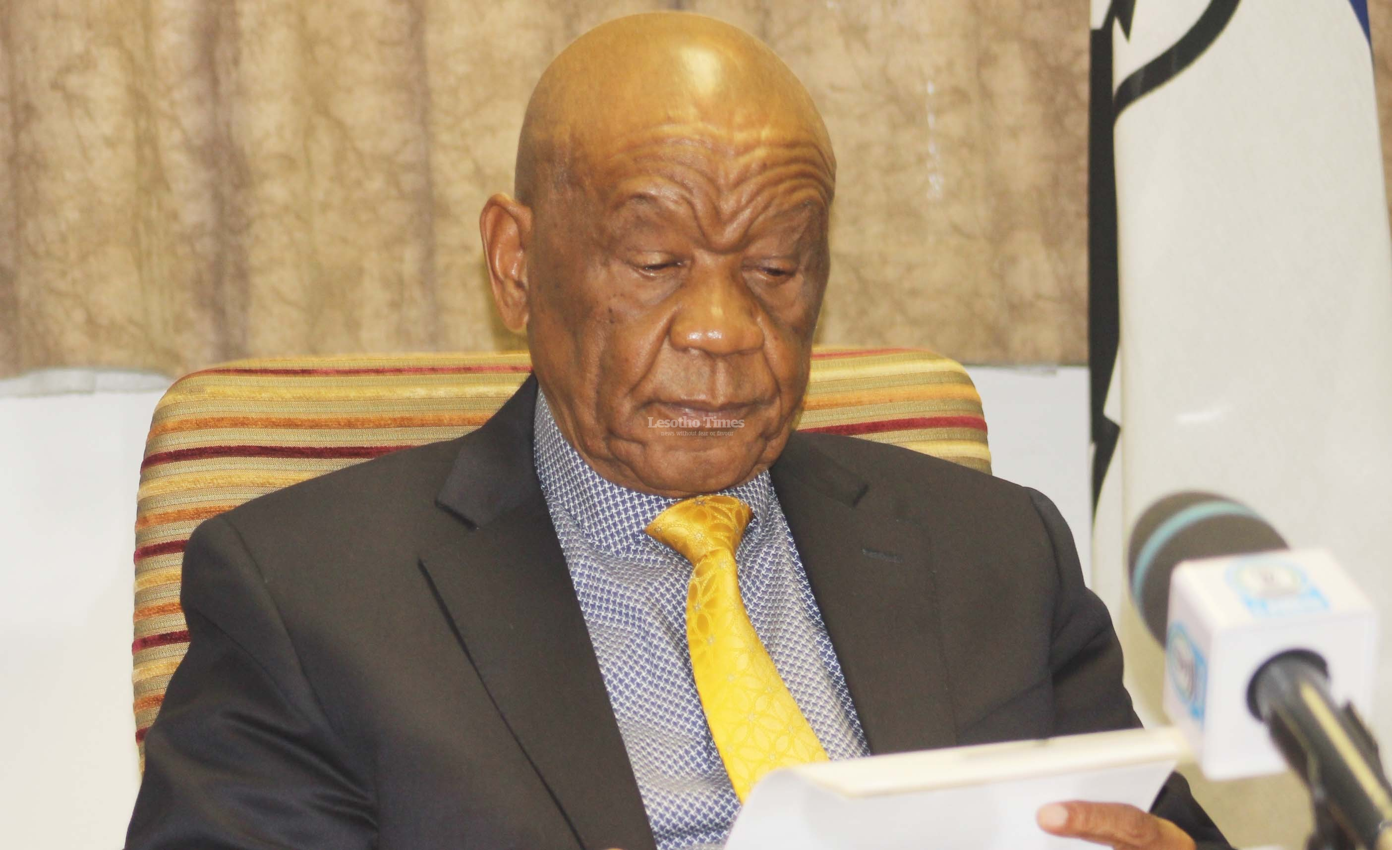 Thabane launches national reforms programme
