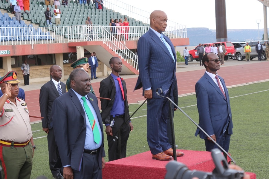 Foreign forces bid Lesotho farewell