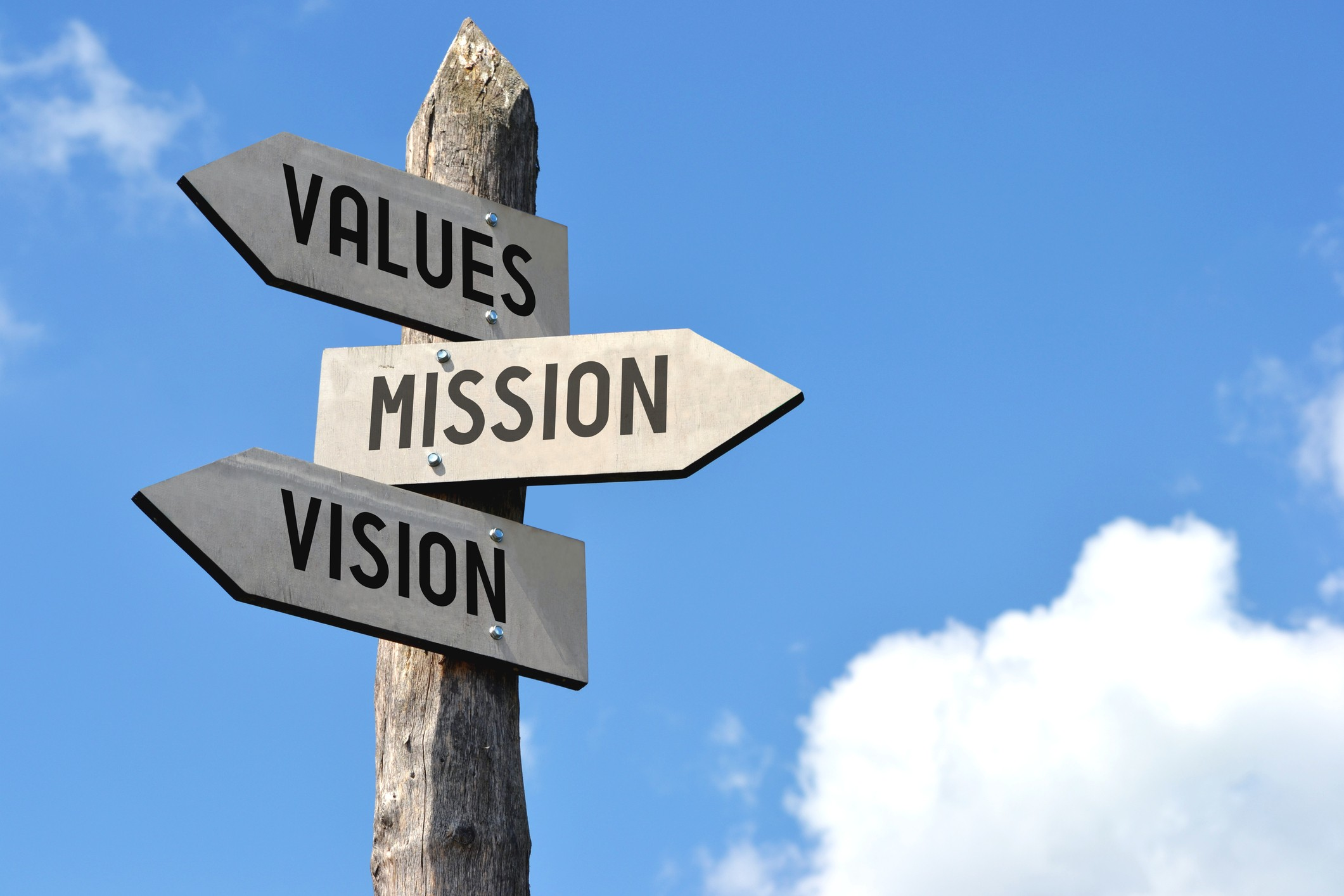 Is your personal mission statement changing?